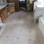 Tile Front to Back in a Motorhome!