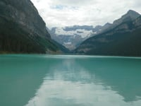 You can rent a canoe to take in the full beauty of Lake Louise.