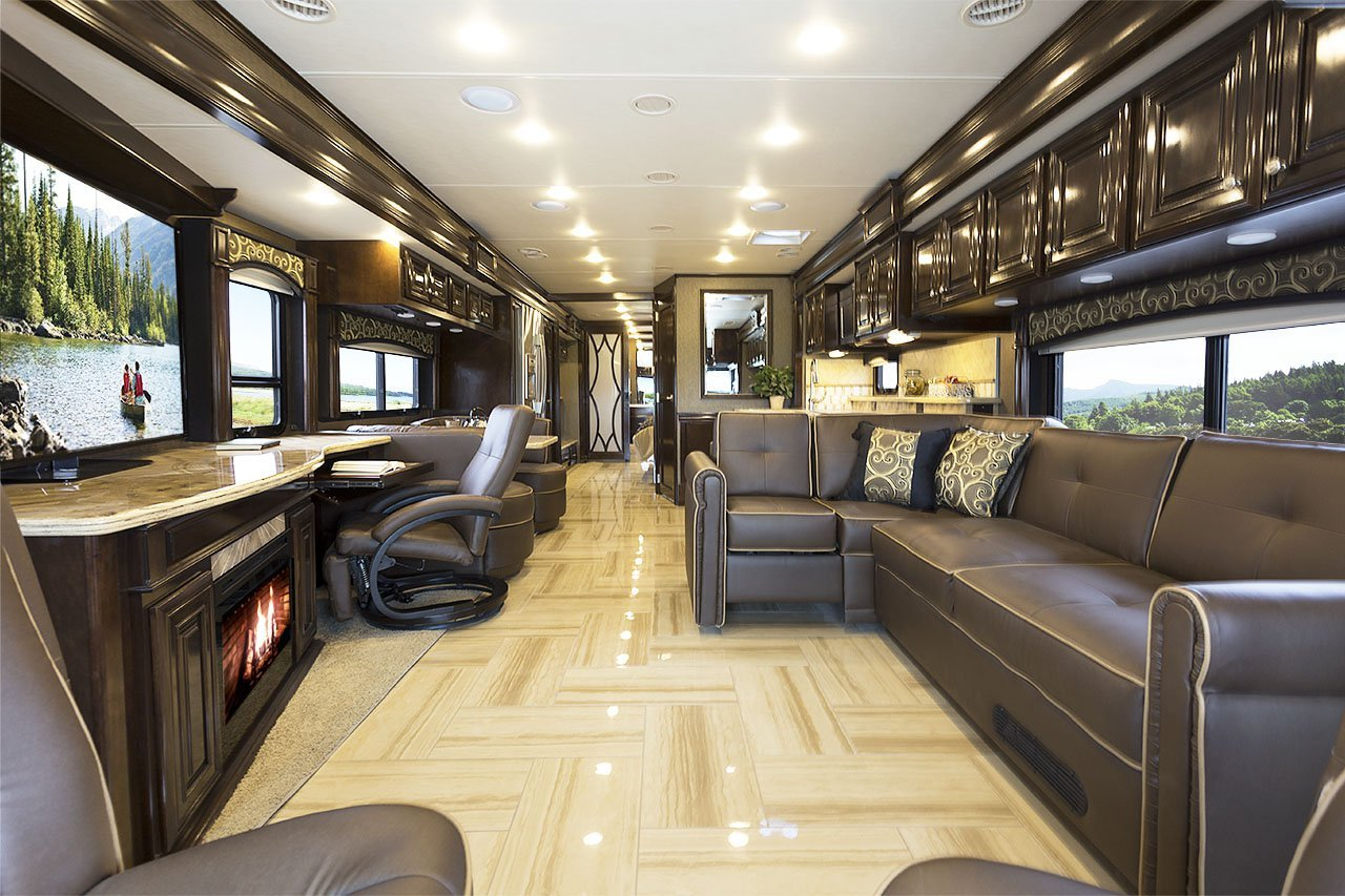 Thor S High End Tuscany Provides Affordable Luxury Rv Life