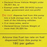 The Real Story About Arizona's Diesel Fuel Tax for RVers