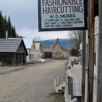 Barkerville Historic Town in British Columbia