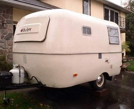 boler fiberglass trailer
