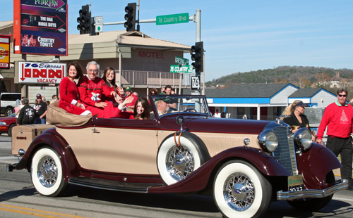 Andy Williams, Parade Marshall, Branson Parade of Stars