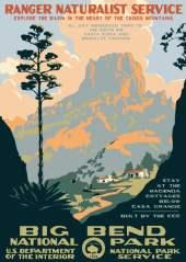 WPA NPS Poster Ranger Doug