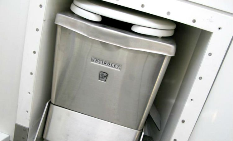 waterless RV toilets