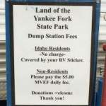 RV Dump Stations Reciprocity from State to State
