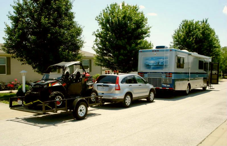 RV triple towing