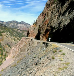 the million dollar highway