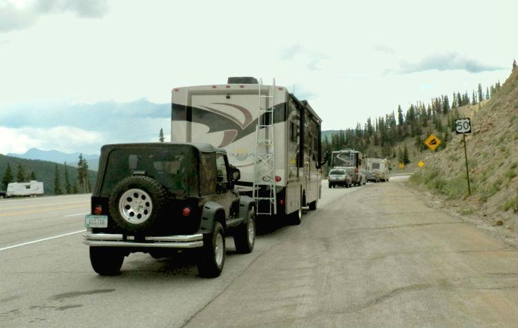 gas or diesel RVs