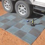 Your RV's Patio Mat Can Be A Total Lifesaver When Making Repairs