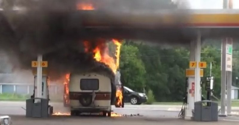Can Your RV Propane System Explode & Kill You On The Road?