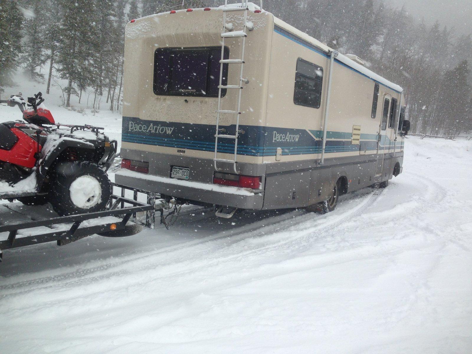 prepare your RV for winter