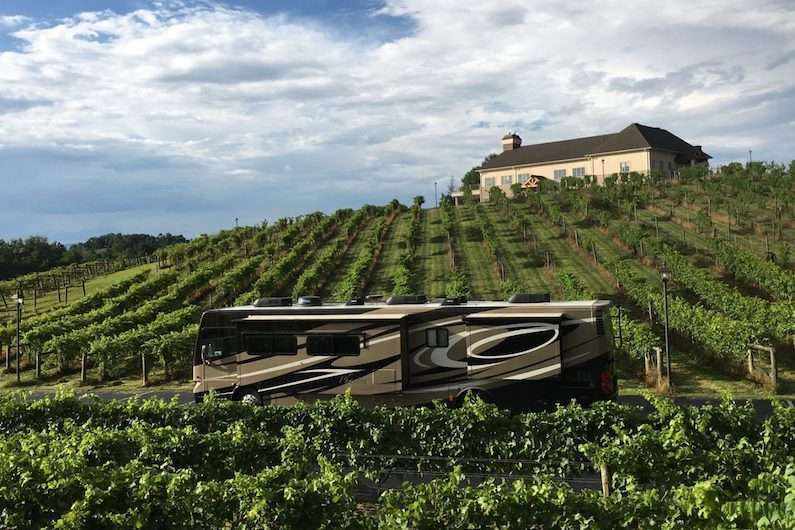 harvest hosts review vineyard
