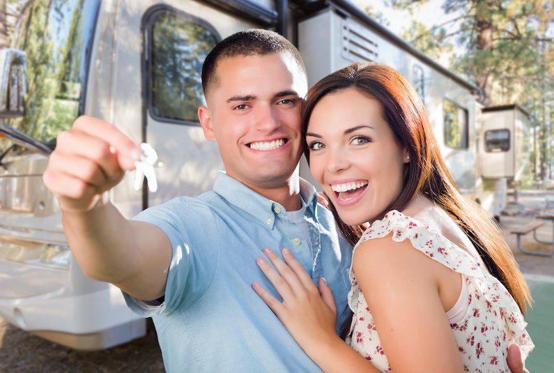 To get the keys to a new RV, most of us have to do some sort of RV financing or get an RV loan