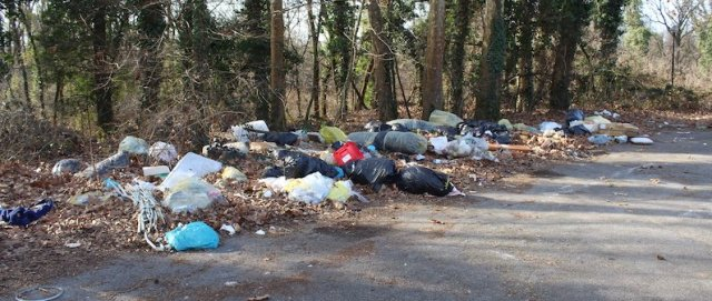 Abuse of boondocking sites, littering.
