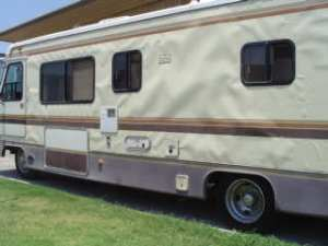 An RV with bad delamination