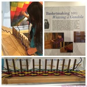 weaving a gondola