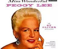 Peggy Lee -  Miss Wonderful