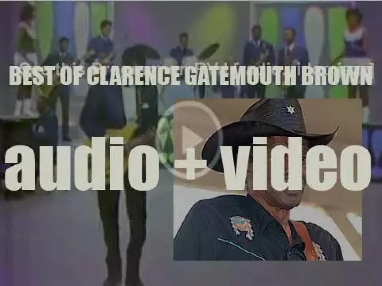 "We remember Clarence 'Gatemouth' Brown. 'Texas Star ""Gate""'"