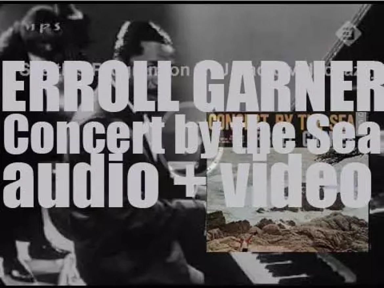 Erroll Garner records his album : 'Concert by the Sea' in Carmel, California (1955)