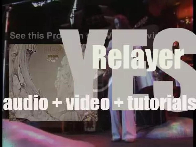 Atlantic publish Yes' seventh album : 'Relayer' (1974)