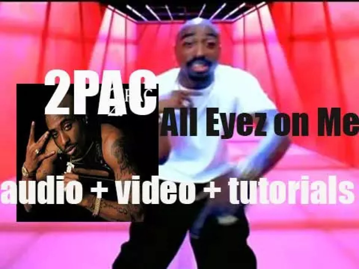 2Pac releases his fourth album : 'All Eyez on Me' featuring 'I Love L.A.'How Do U Want It' and 'California Love' (1996)