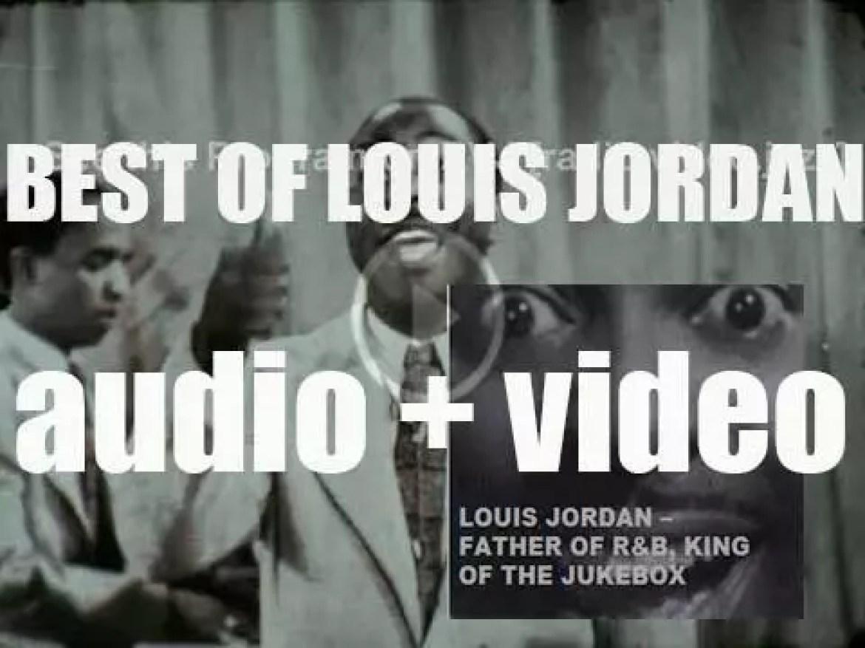 We Remember Louis Jordan. 'Father Of R&B, King of the Jukebox'