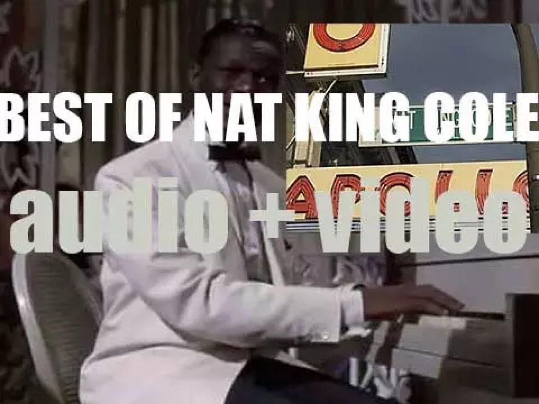 "We remember Nat King Cole. 'Nat ""Unforgettable"" Cole'"