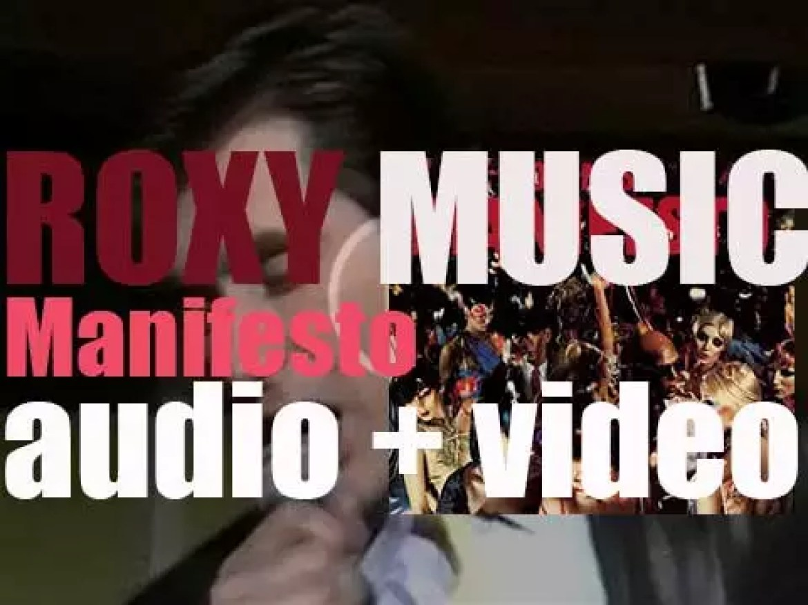 After a four years hiatus, Roxy Music release 'Manifesto' featuring 'Angel Eyes' (1979)