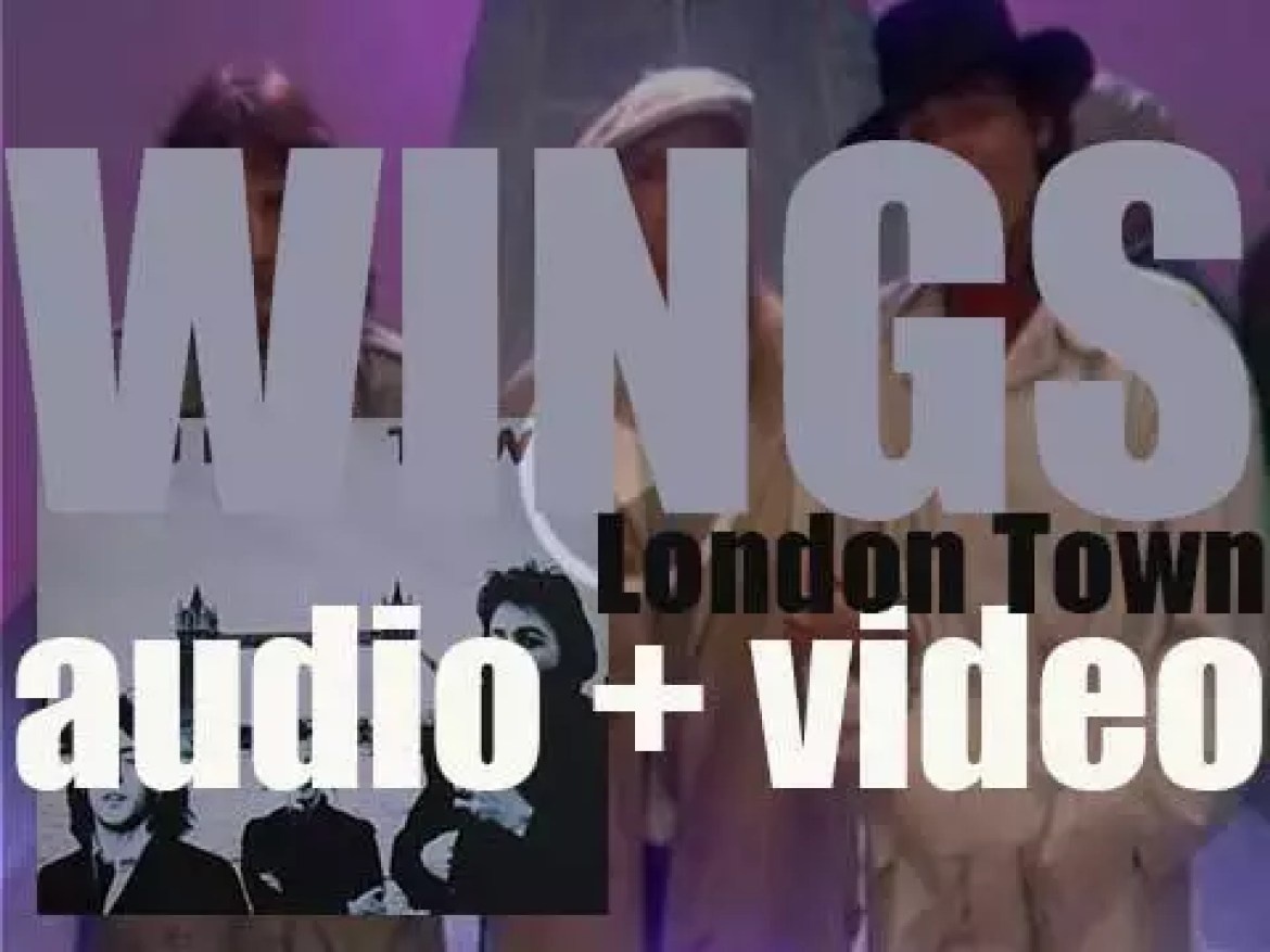 Wings (Paul & Linda McCartney and Dennis Laine) release 'London Town' (1978)