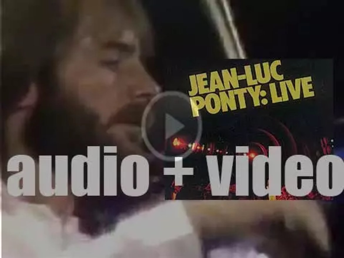 Atlantic release Jean-Luc Ponty's 'Live' recorded while on his US tour (1979)