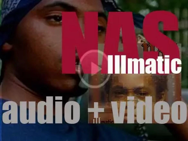 Columbia publish Nas debut album : 'Illmatic' (1994)