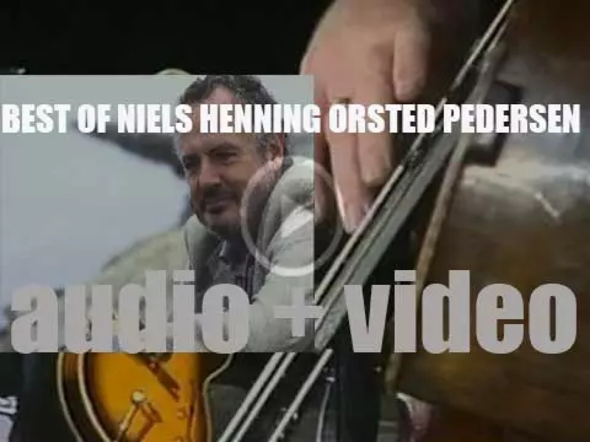 We remember Niels Henning Orsted Pedersen. 'AKA NHØP'