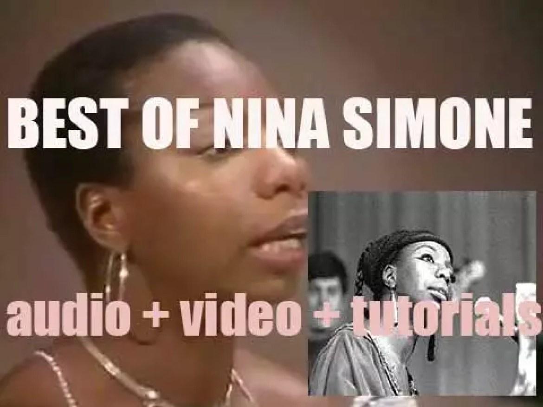 We remember Nina Simone. 'Nina Quitte Pas'