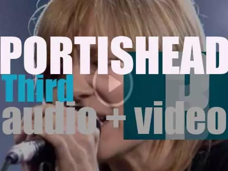Portishead release 'Third,' their third studio album after a 11 years hiatus (2008)