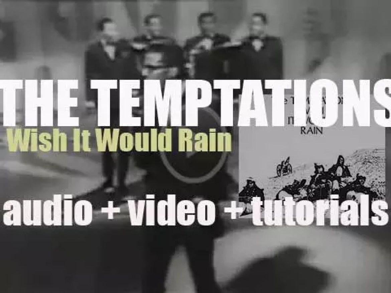 Gordy publish 'Wish It Would Rain,' an album by The Temptations (1968)