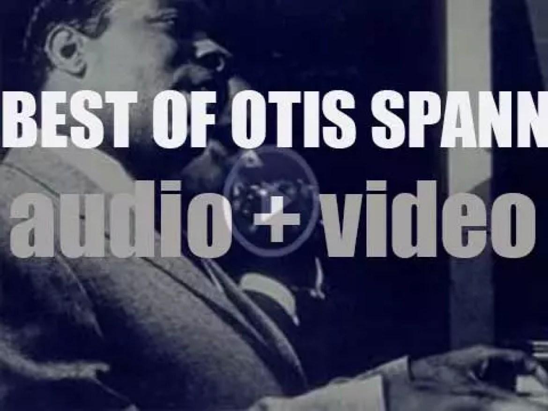 We remember Otis Spann. 'Sketches Of Spann'