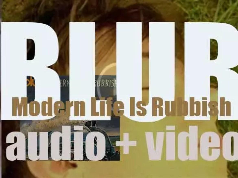 Blur release 'Modern Life Is Rubbish,' their second album (1993)