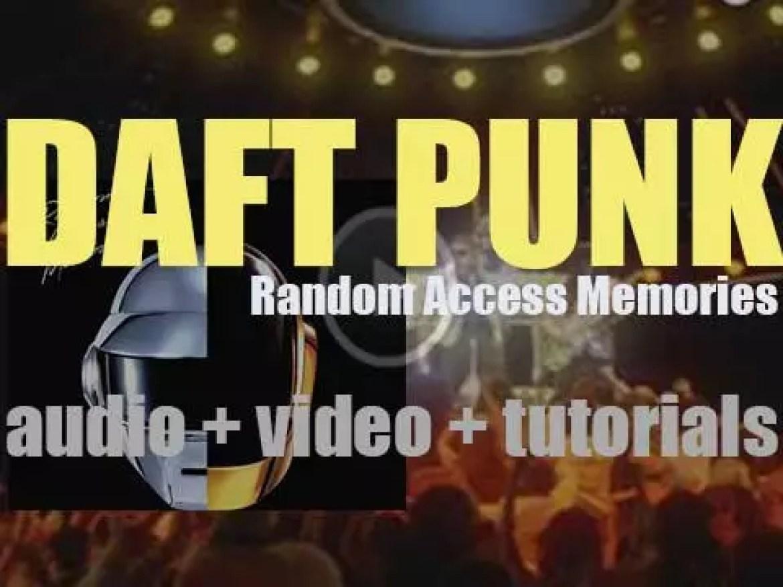 Daft Punk release 'Random Access Memories,'  their fourth album featuring 'Get Lucky' (2013)