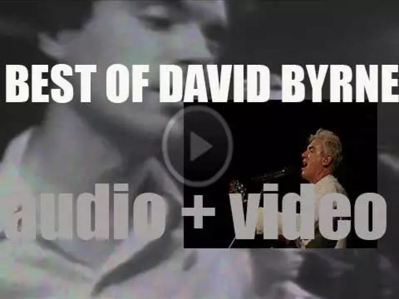 Happy Birthday David Byrne. 'Headmaster'