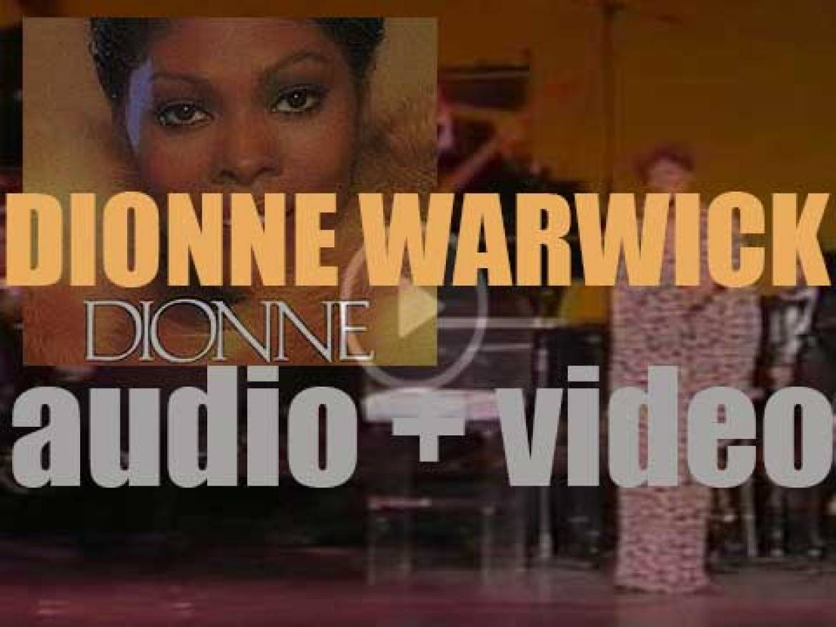 Arista publish Dionne Warwick's 'Dionne' produced By Barry Manilow (1979)