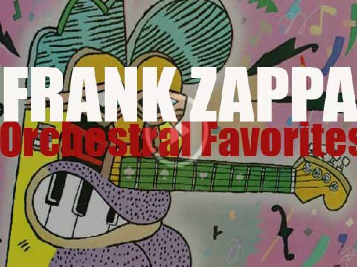 Discreet publish Frank Zappa's 'Orchestral Favorites' recorded with the Abnuceals Emuukha Electric Symphony Orchestra (1979)