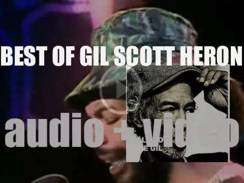 We Remember Gil Scott Heron. 'Free Gil'
