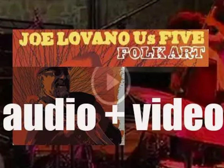 Blue Note release Joe Lovano's 'Folk Art' recorded with Us Five featuring Esperanza Spalding (2009)