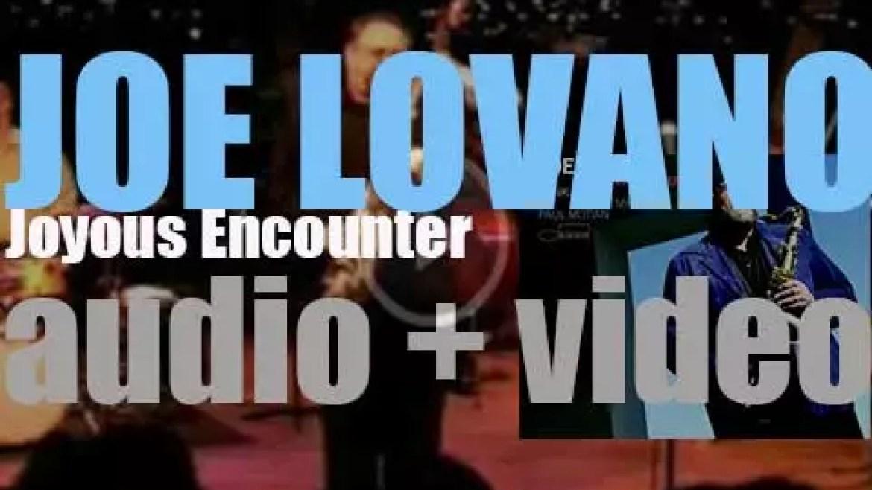 Blue Note publish Joe Lovano's 'Joyous Encounter'  recorded with George Mraz, Paul Motian and Hank Jones (2005)