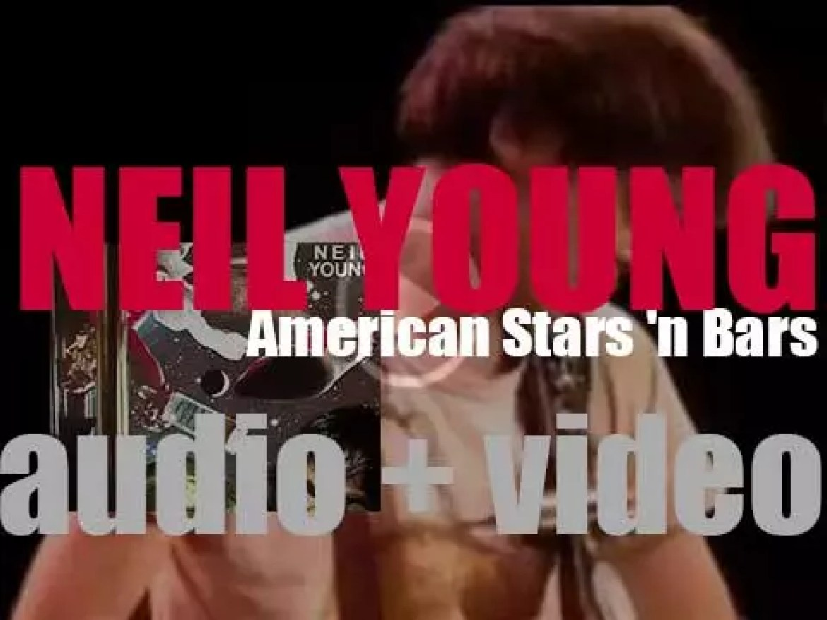 Neil Young releases 'American Stars 'n Bars' featuring 'Like a Hurricane' and 'Homegrown' (1977)