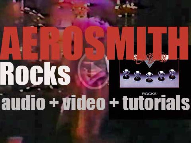 Columbia publish Aerosmith's fourth album : 'Rocks' (1976)