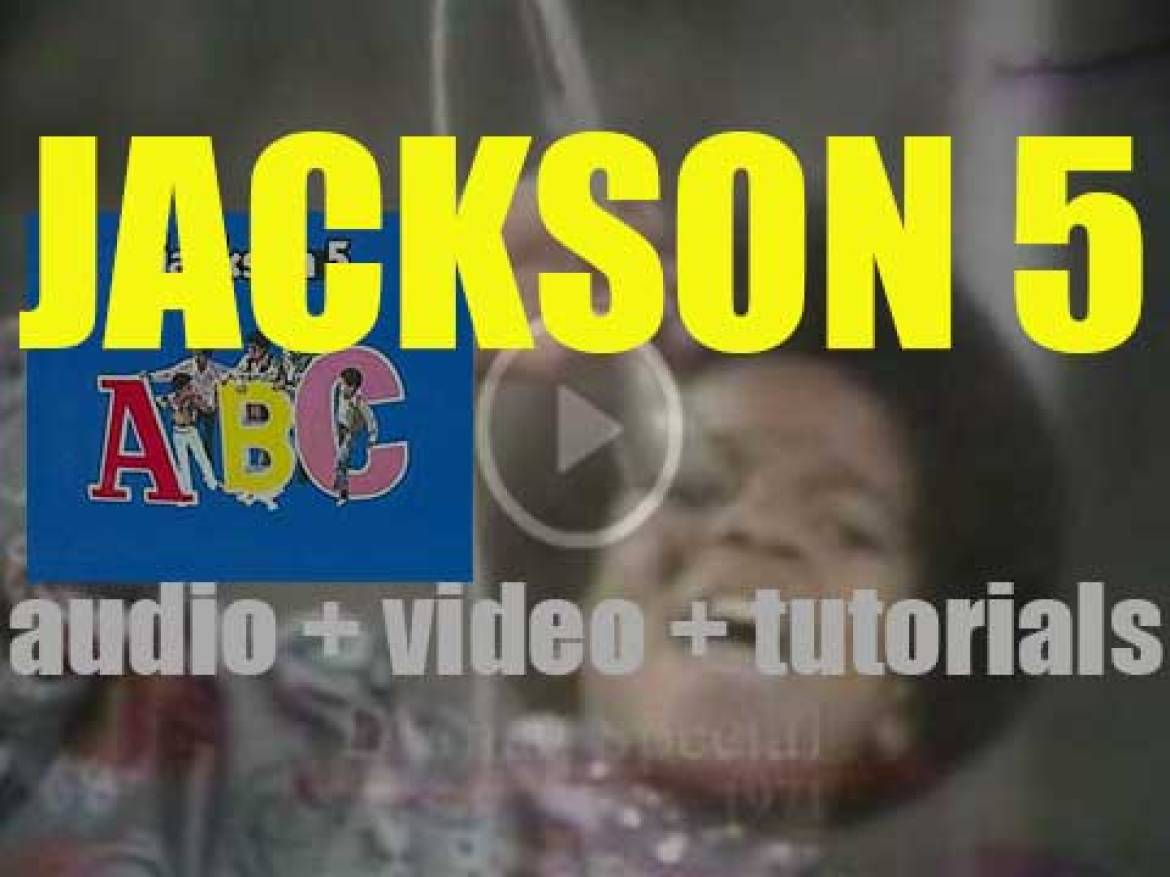 Motown Records publish Jackson 5's 'ABC' featuring 'The Love You Save' (1970)