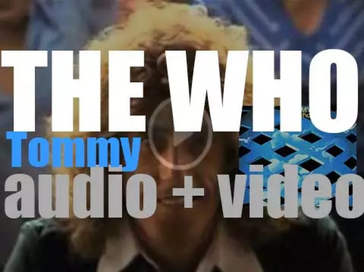 The Who release the rock-opera 'Tommy' as a double-album (1969)