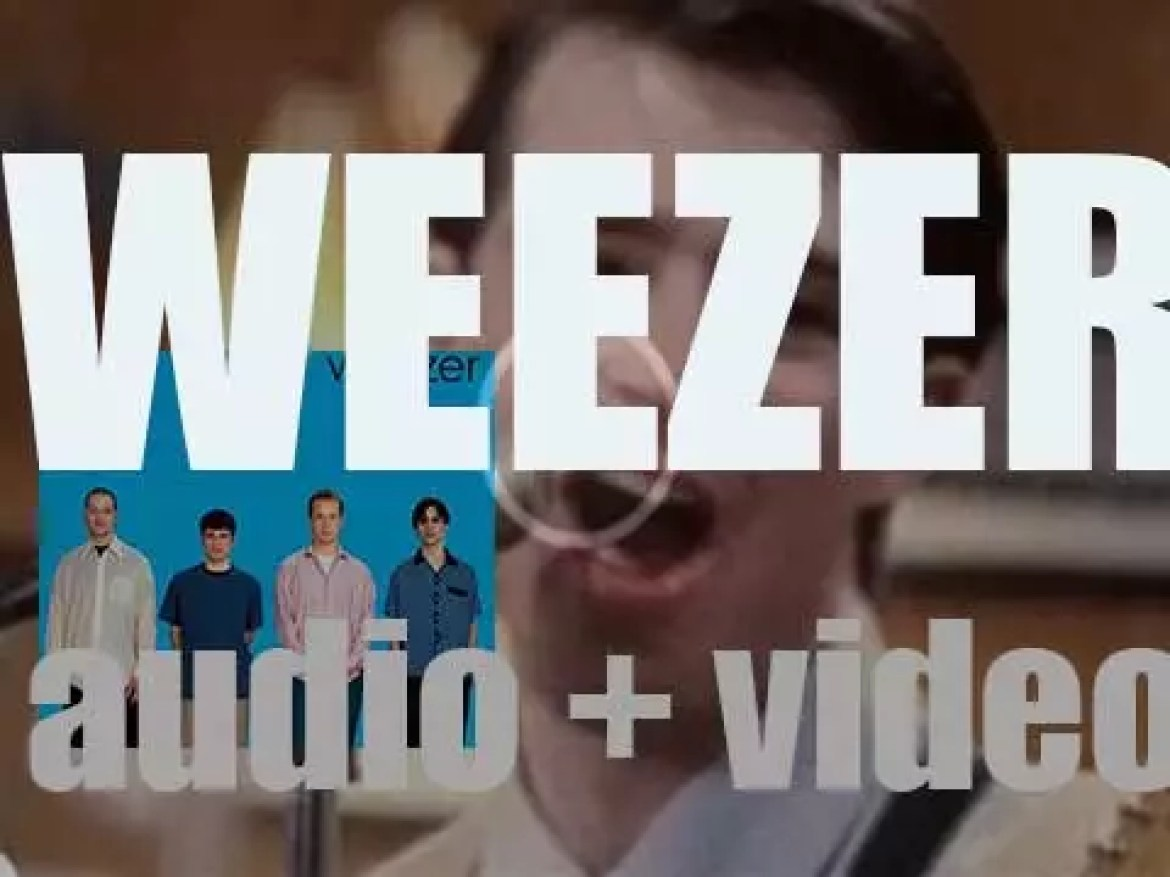 'Weezer' is their eponymous debut album produced by  Ric Ocasek and featuring 'Buddy Holly' (1994)